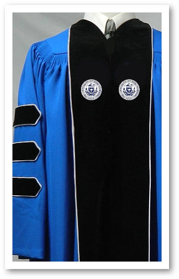 University of New Hampshire Authentic Doctoral Gown