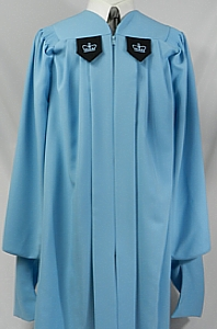 Columbia University Master's degree robe by University Cap & Gown