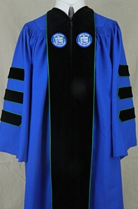 Endicott College doctoral outfit by University Cap & Gown