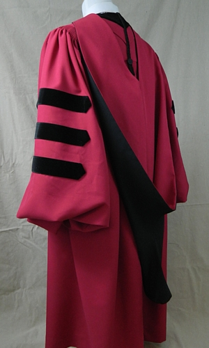 Harvard University Doctoral Outfit By University Cap Amp Gown