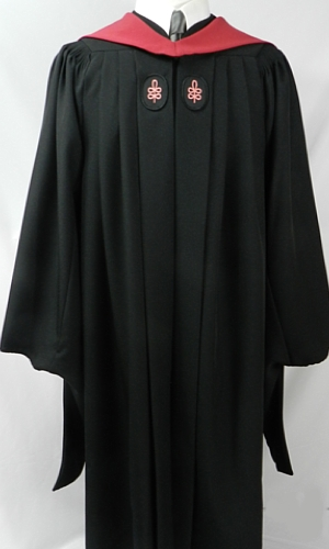 Custom Crafted Doctoral Robes By University Cap Amp Gown