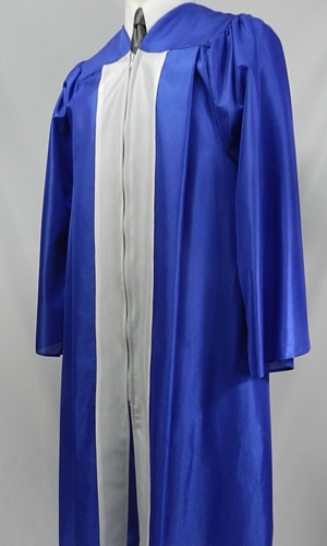 Souvenir cap and gown with contrasting panel color by University Cap & Gown