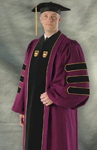 Boston College Doctoral Outfit from University Cap & Gown