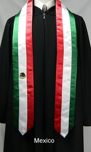 Custom Satin Stoles | Graduation Stoles | Class Officer Stoles