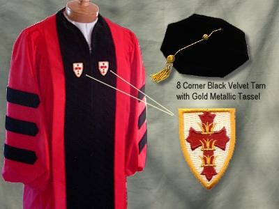 Boston University Doctoral Outfit by University Cap & Gown
